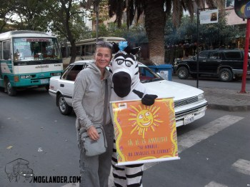 Guess who helps you at the Zebra crossing....