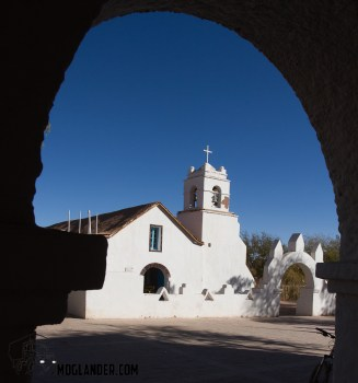 San Pedro de Atacama Church.