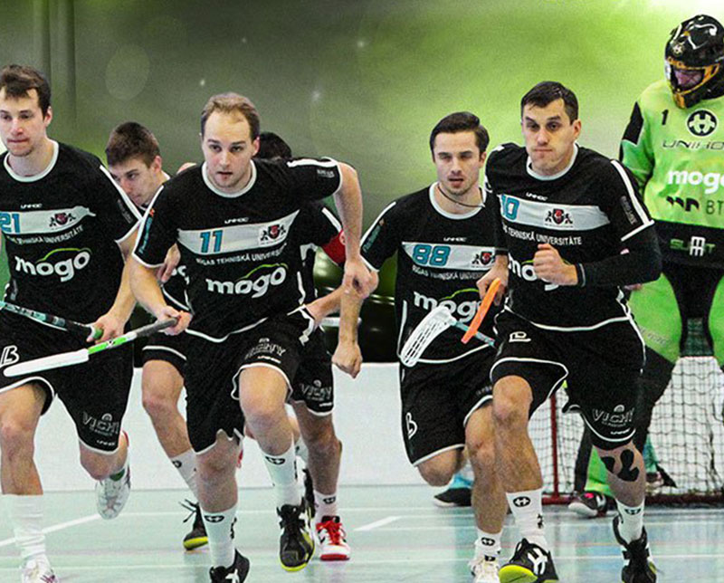 rtu floorball team sponsored by mogo