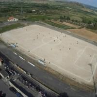Il Campo Sportivo di Mogoro e la Freccia.