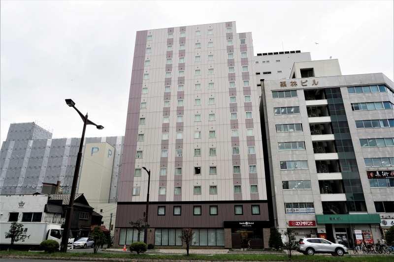 スマイルホテルプレミアム札幌すすきのの外観