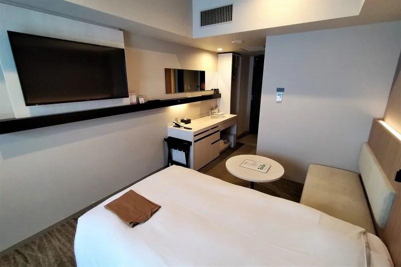 「JR INN 札幌駅南口」のツインルーム室内の様子