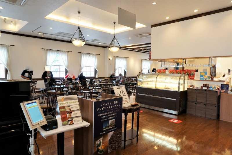ルタオ本店2階のカフェ
