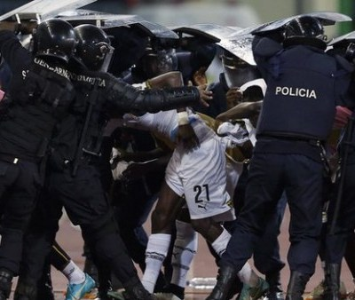 Ghana protected from Equatorial Guinea fans