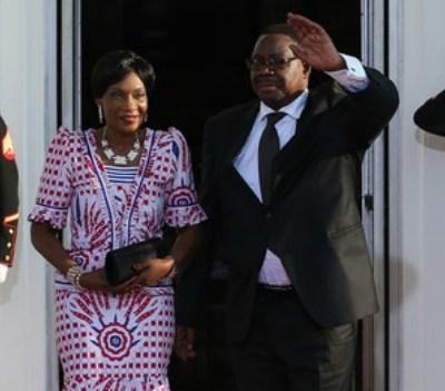 Malawi President Arthur Peter Mutharika and Gertrude Hendrina Mutharika at the U.S. Africa Leaders Summit, August 5, 2014. Photo: Mark Wilson/Getty