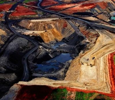 Delmas open-air coal mine, South Africa. Photo: Yann Arthus Bertrand