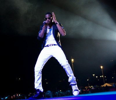 D'Banj performs at the MTV Africa All Stars Concert, 2013, Durban. Photo: Henk Badenhorst/Getty