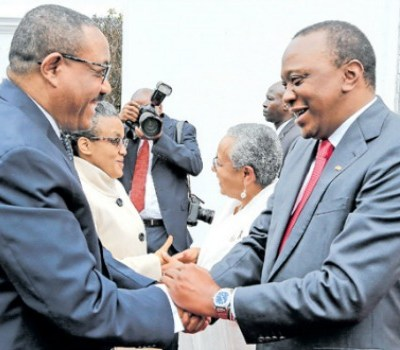 Kenya Signs Oil Pipeline Deal With Ethiopia