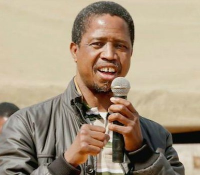 Zambian President Lungu re-elected