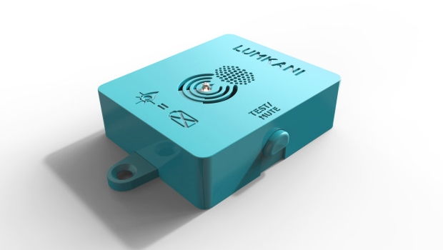 Lumkani develops a home fire detection device for informal settlements. Photo - Lumkani