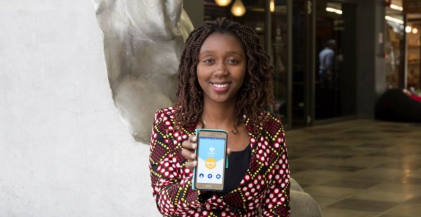 Loanbee is the brainchild of Monicah Wambugu, a computer scientist from Kenya. Photo - Twitter