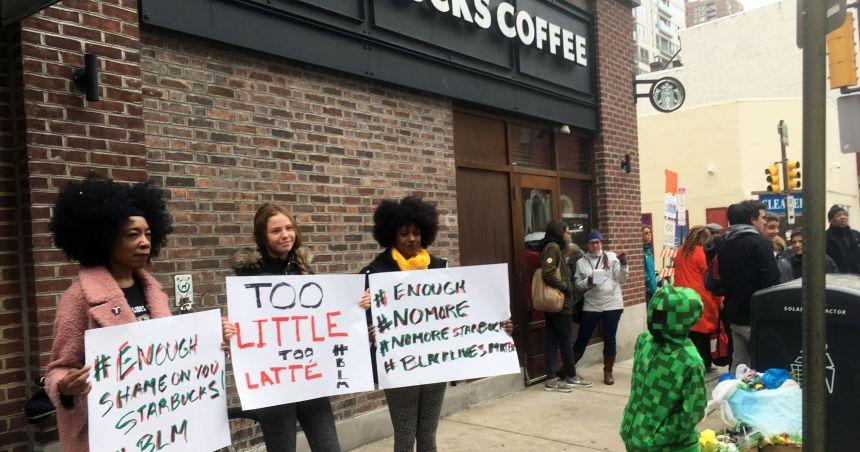 NAACP to Starbucks