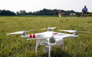tech startups Aerobotics uses drone and satellite imagery to assist farmers with their crops. Photo - AP - Alex Brandon