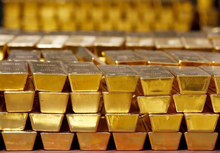 gold an ounce