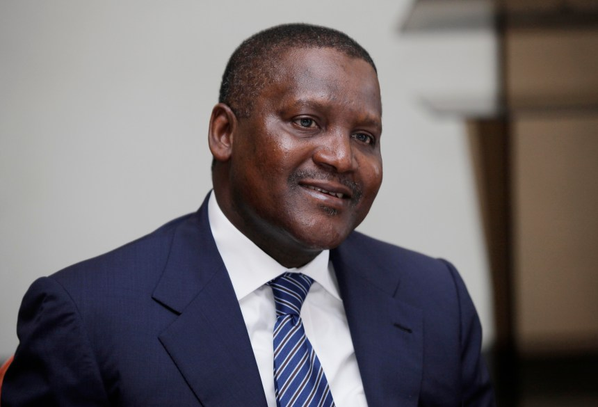 Richest billionaires Aliko Dangote phosphate project