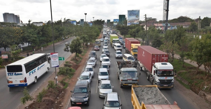 ride-hailing services Traffic jams