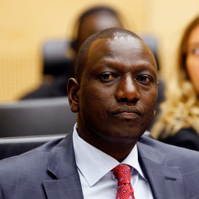 Kenyan vice-president William Ruto is said to have spearheaded the country's bid to host the 2020 International Open Data Conference. Photo - AP - Bas Czerwinski
