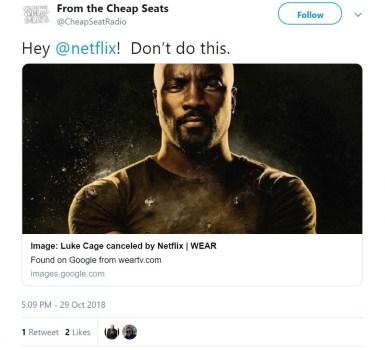 Netflix Won't Renew Marvel's Harlem Hero 'Luke Cage' For