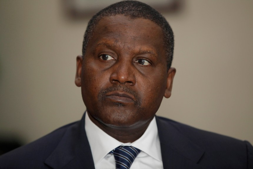 Dangote Arsenal takeover