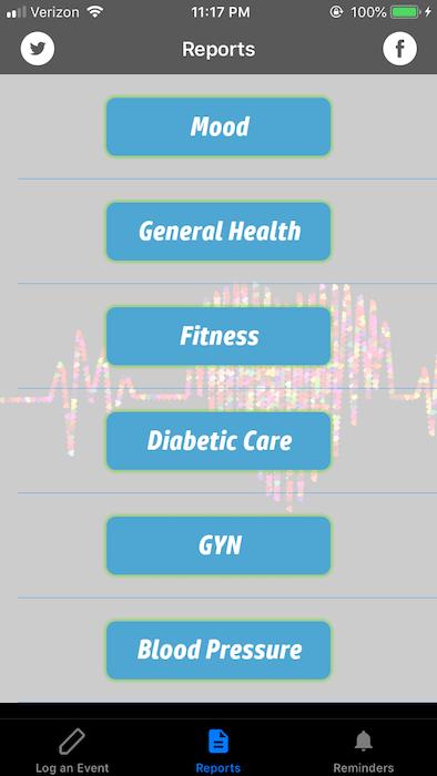 personal health app