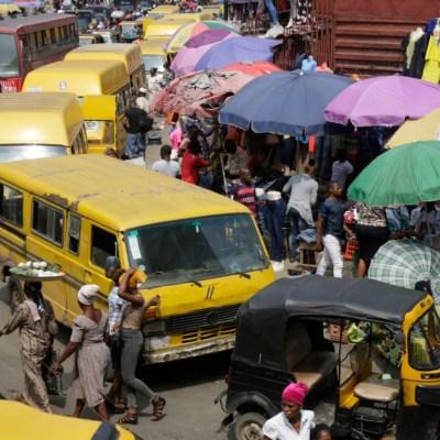 Lagos largest bank public bus