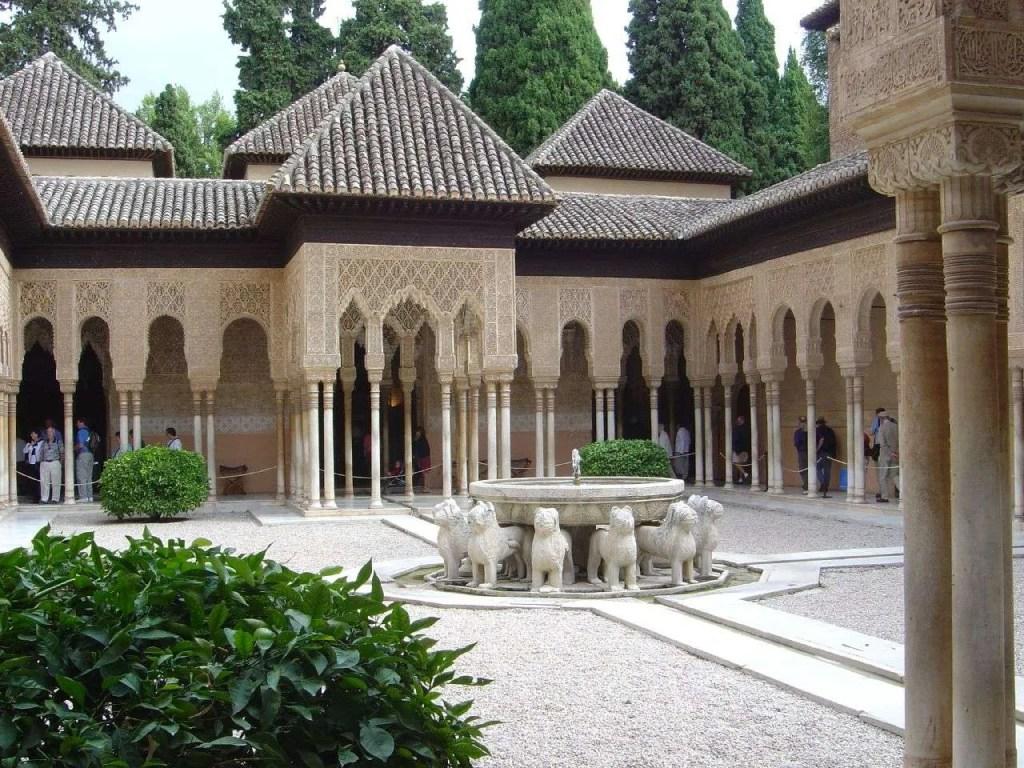 moorish revival alhambra washington irving