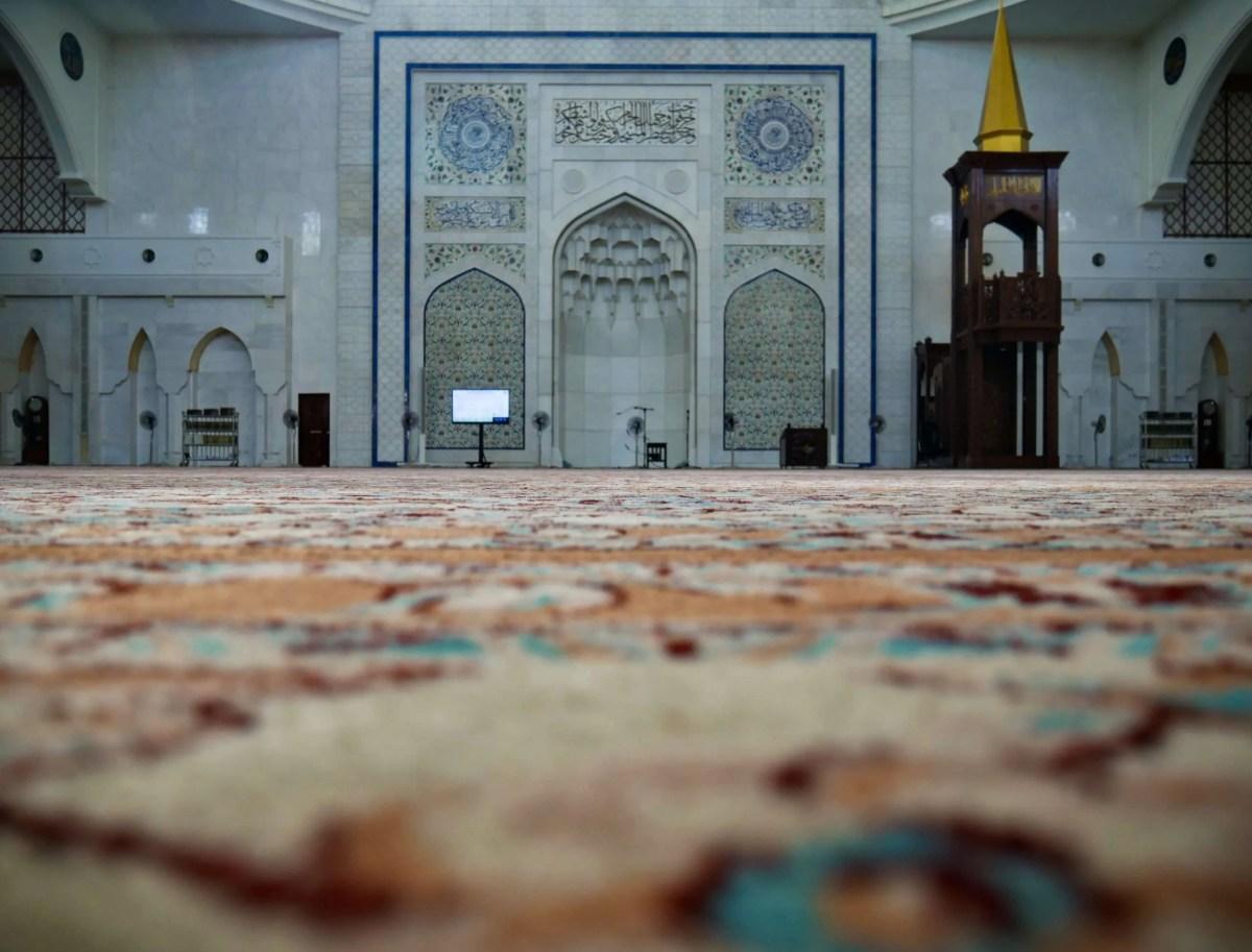 Masjid Wilayah floor