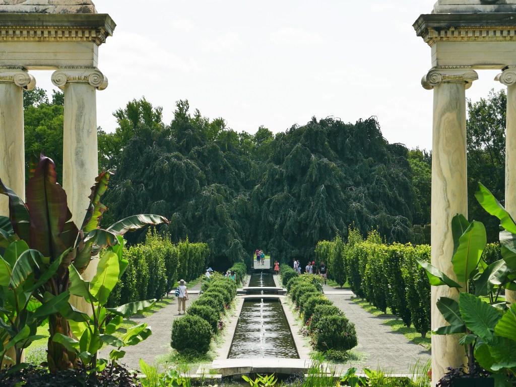 Untermyer Gardens Persian Charbagh