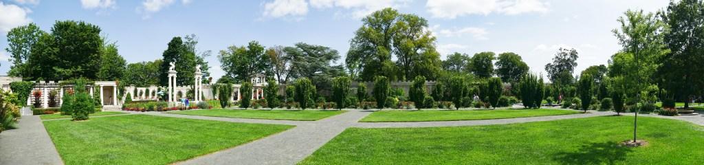 Untermyer gardens Panoramic view