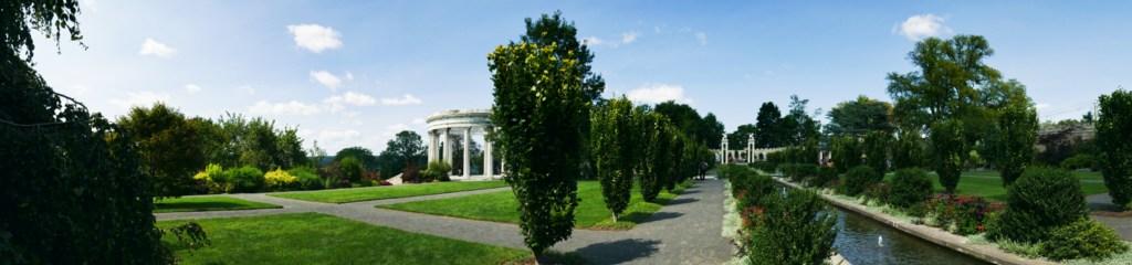 Untermyer Gardens panoramic