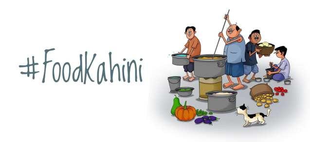 FoodKahini- Bengali food book