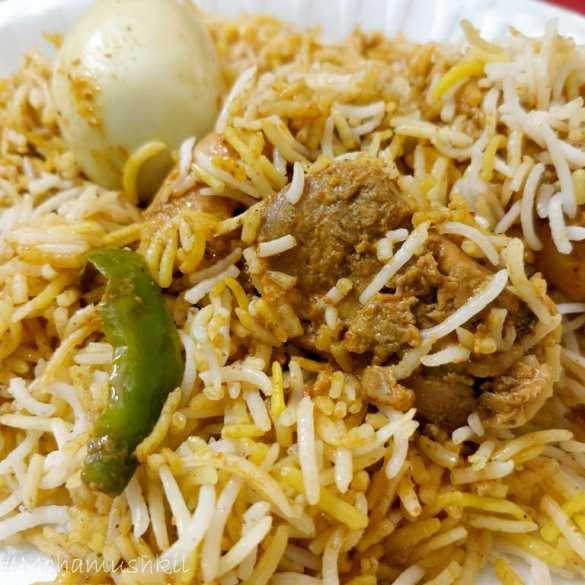 Chaccha Jaan chicken Tikka Biryani