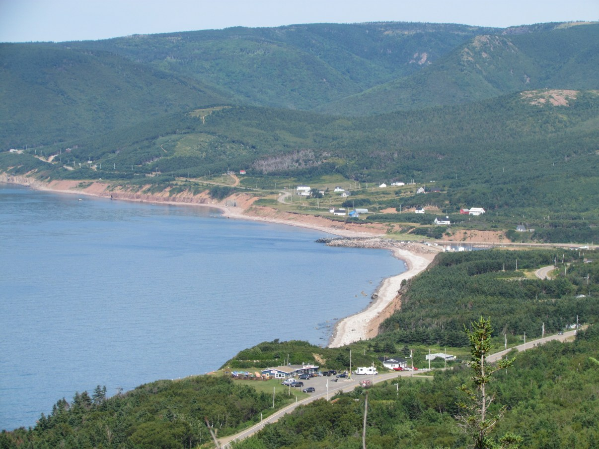 On the drive to Pleasant Bay, along the Cabot Trail.