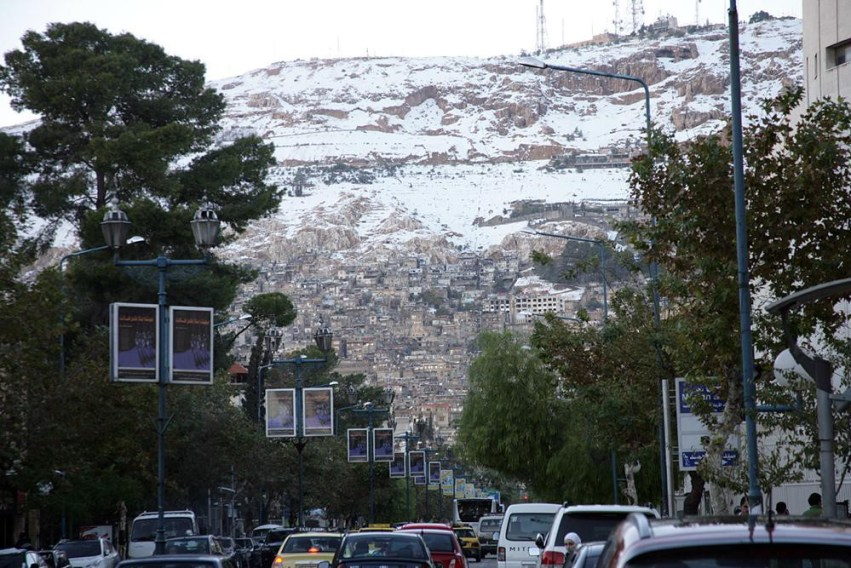 Damascus Winter - Snow