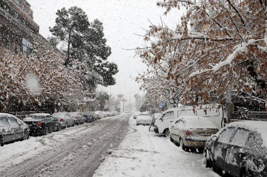 Damascus Winter - Snow