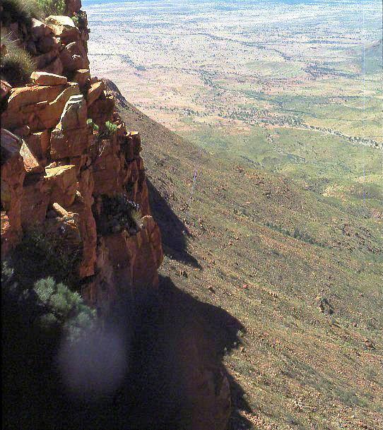 mt liebig summit view down