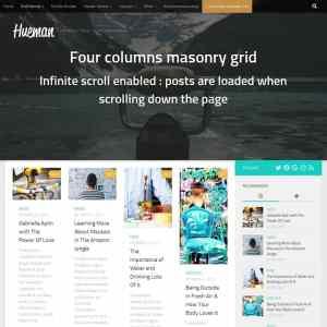 Hueman Theme Review Best WordPress Theme post grid