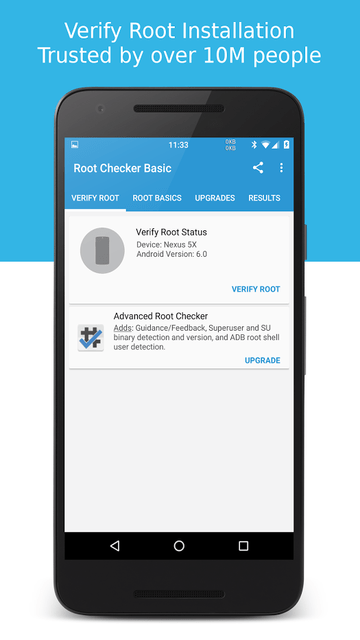 تطبيق Root Checker