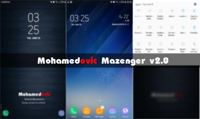 [روم][نوت 3] Mazenger v2.0 بمميزات Galaxy S8 & Note 7