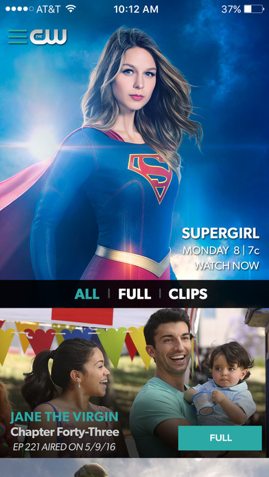 The CW Network app 15