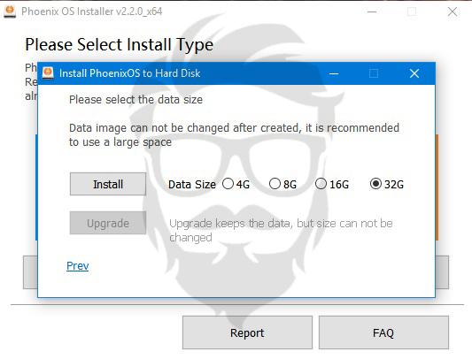 Phoenix OS installer 04