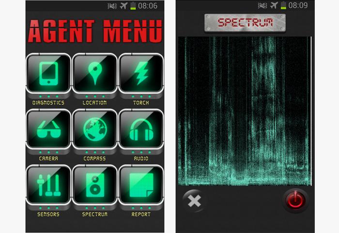تطبيق تجسس Secret Agent