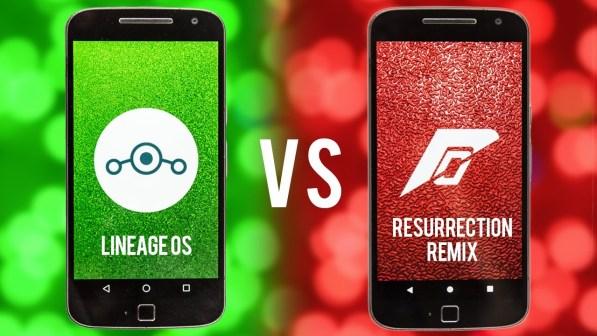 LineageOS VS Resurrection Remix Mohamedovic