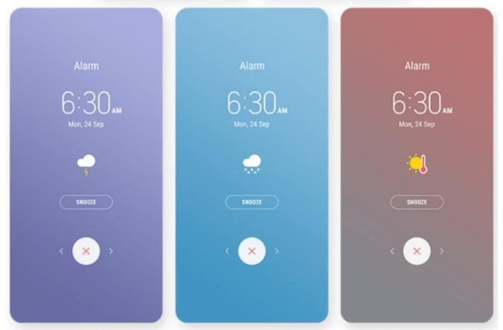 Samsung Galaxy S9 Alarm App Mohamedovic