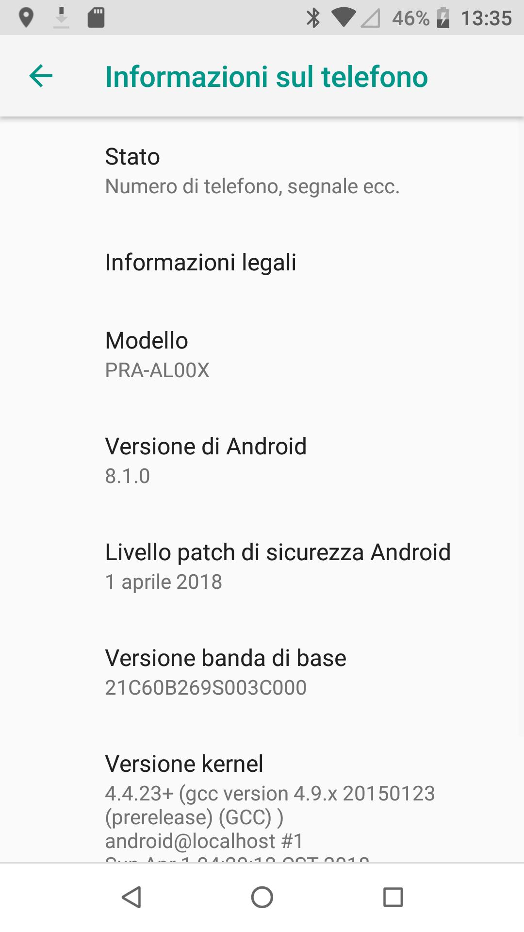 EMUI 8.0 Based Android 8.0 Oreo Beta for Huawei P8 Lite Mohamedovic 03
