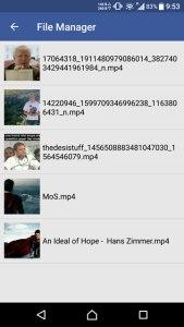 شرح كيفية تحميل ومشاركة ملفات الفيديو من Facebook إلى WhatsApp 9