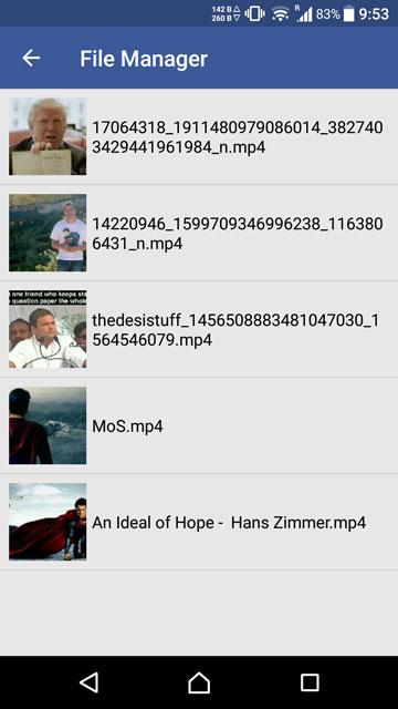 الفيديوهات التي قمت بتحميلها