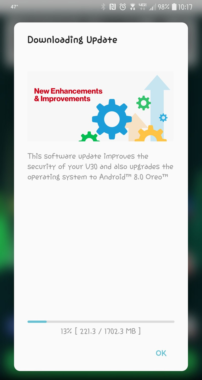 LG V30 Official Android 8.0 Oreo Firmware update Mohamedovic 04