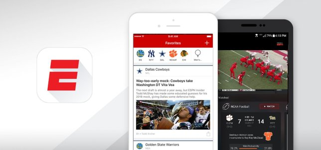 ESPN Live Watch App for Word Cup 2018