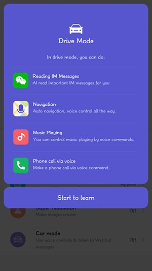 MIUI 10 China Developer ROM Drive Mode Mohamedovic 03